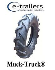 400x10 CLEATED TYRE FOR - Muck-Truck® POWER-BARROWS ROTAVATORS MINI TRACTOR